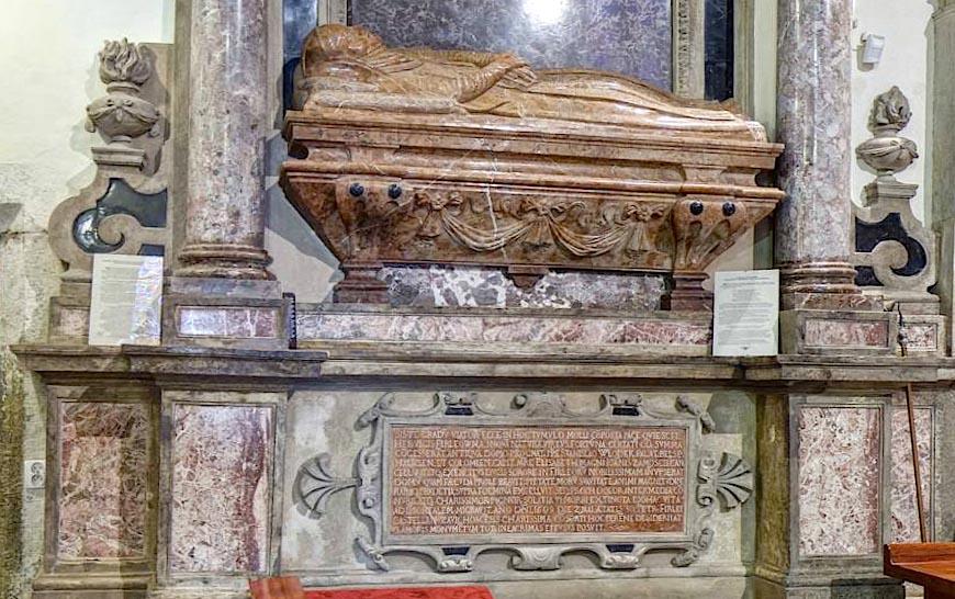 Renesansowe nagrobki w kościele Franciszkanów